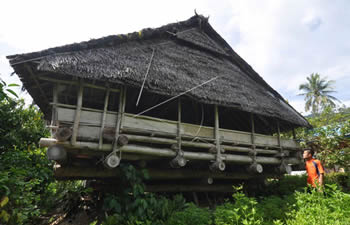 central sulawesi house