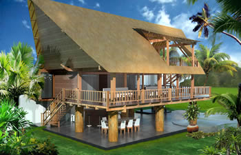 Fine Tropical Wooden House Designs House Design Ideas Largest Home Design Picture Inspirations Pitcheantrous