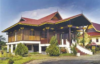 riau wooden house